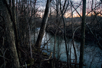 Upper Don River at Dusk